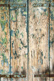Grunge painted wood Stock Image