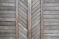 Old wooden palisade Stock Images