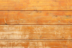 Old wooden panel background closeup. Retro timbered backdrop closeup. Stock Photo