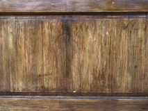 Old wooden panel Royalty Free Stock Images