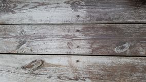 Old wooden panel. An old wooden panel with faded gray paint Royalty Free Stock Photography