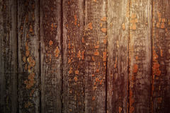 Old wooden panel Stock Photography