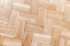 Old wooden parquet pattern, decorative oak tiling Stock Photo