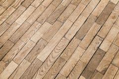 Old wooden parquet pattern, oak wood tiling Stock Image