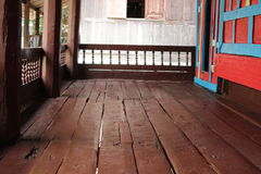 Old wooden pavilion Royalty Free Stock Photo