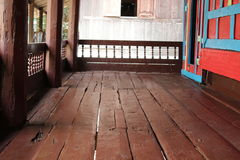 Old wooden pavilion Royalty Free Stock Images