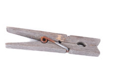 Old wooden peg Stock Photos