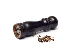Old wooden pepper mill Royalty Free Stock Photography