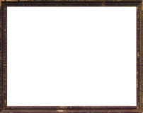 Old Wooden Picture Frame Royalty Free Stock Photos