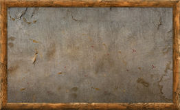 Old Wooden Picture Frame Stock Image