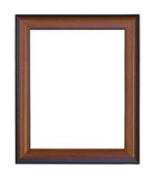 Old wooden picture frame. Royalty Free Stock Photo