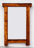 Old wooden picture frame Royalty Free Stock Images