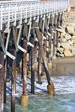 Old wooden pier Stock Photography
