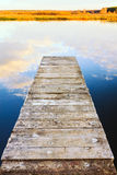 Old Wooden Pier Royalty Free Stock Photography