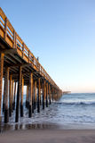 Old Wooden Pier, Ventura, CA Stock Photography