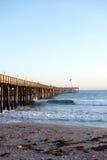 Old Wooden Pier, Ventura, CA Royalty Free Stock Image