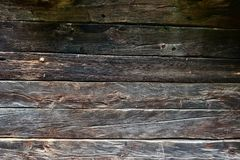 Old wooden plank as background or texture royalty free stock photo