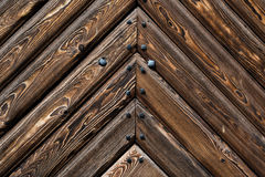 Old wooden plank background Stock Photography