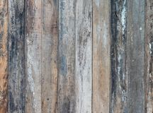 Old wooden plank background. Royalty Free Stock Photos