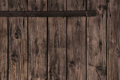 Old wooden plank brown background for advertising. Royalty Free Stock Images