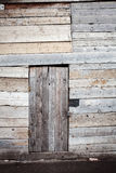 Old wooden plank door Royalty Free Stock Photography