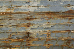Old Wooden Plank of the ship Stock Photography