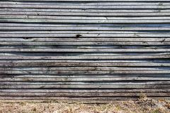 Old wooden plank wall Stock Photo
