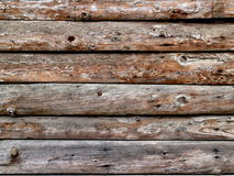 Old wooden planks background. Old boards connected as a wall Royalty Free Stock Photos