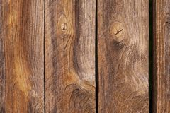 Old wooden planks close up background stock photo