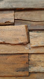Old wooden planks close up Stock Image
