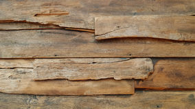 Old wooden planks close up Stock Images