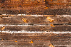 Old wooden planks with knots. Stock Photos