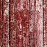 Old wooden planks painted with paint Royalty Free Stock Images