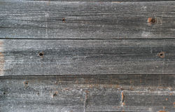 Old wooden planks with remnants of paint Stock Image