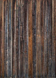 Old Wooden Planks in the Row, color background Royalty Free Stock Photos