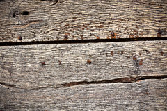 Old wooden planks surface background Royalty Free Stock Images