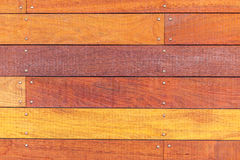 Old wooden planks surface background. Royalty Free Stock Photo