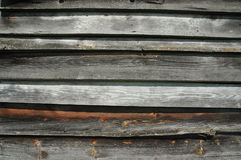 Old wooden planks. Texture of old wooden planks Stock Photography