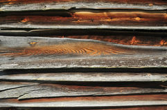 Old wooden planks. Texture of old wooden planks Stock Photos