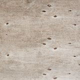 Old wooden plywood fragment Stock Image
