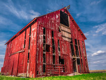 Barn old abandoned Royalty Free Stock Photo