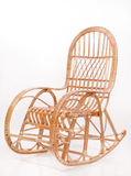 Old wooden rocking chair Stock Photos