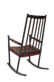 Old wooden rocking chair Stock Photography