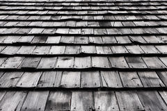 Old wooden roof Royalty Free Stock Photography