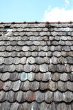 Old wooden roof Stock Photos