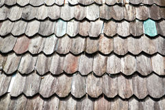 Old wooden roof Stock Images