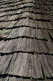Old wooden roof Royalty Free Stock Image