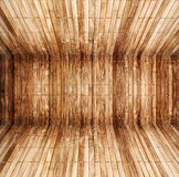 Old wooden room Stock Images