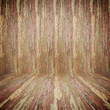 Old wooden room background. Old grungy wooden room background Royalty Free Stock Images