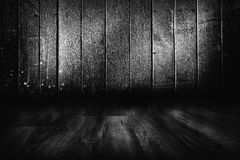 Old wooden room Stock Photo